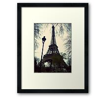 Meet Me Under the Eiffel Framed Print