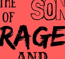 Green Day - Rage and Love Sticker