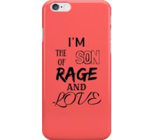 Green Day - Rage and Love iPhone Case/Skin