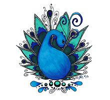 Peacock 1 by designedbylaura