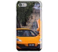 McLaren MP4-12C Spider iPhone Case/Skin