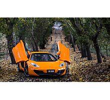 McLaren MP4-12C Spider Photographic Print