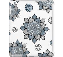 Foral pattern. Doodle art iPad Case/Skin