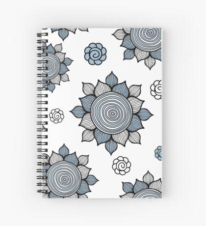 Foral pattern. Doodle art Spiral Notebook