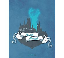Harry Potter Illustration Photographic Print