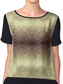 Heavens Stage - A Meditative Pattern Chiffon Top
