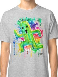 Cute Cactuar - Running Watercolor - Final fantasy - Jonny2may - Awesome!  Classic T-Shirt