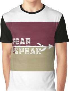 Fear the Spear - Custom 'Nole Artwork Graphic T-Shirt