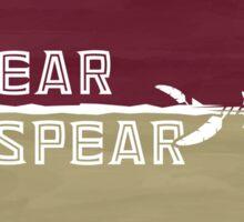 Fear the Spear - Custom 'Nole Artwork Sticker
