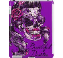"Sugar Skull "" Beautiful Disaster"" iPad Case/Skin"
