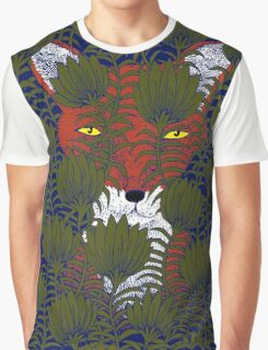Invisible Fox Graphic T-Shirt