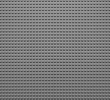 Building Block Brick Texture - Gray by graphix