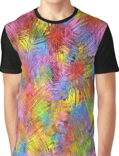 Retro Color Abstract II Graphic T-Shirt