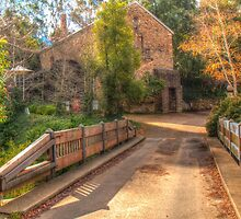 The Old Mill at Bridgewater, The Adelaide Hills SA by Mark Richards