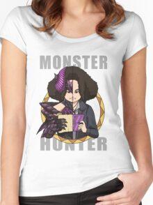 Hunter's Life (Sandy Gore Magala Custom) Women's Fitted Scoop T-Shirt