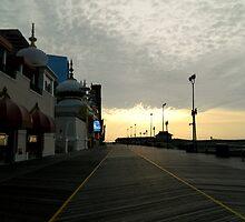 Early Morning Boardwalk - AC by ctheworld