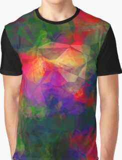 Retro Color Abstract Graphic T-Shirt