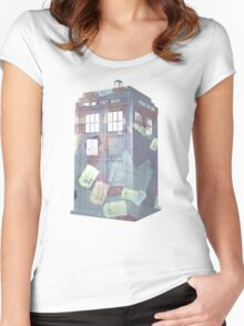 Call Box Chaos (Subdued) Women's Fitted Scoop T-Shirt