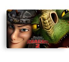 How To Train Your Dragon 03 Canvas Print