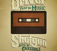 Supernatural Driver & Shotgun by Rachel Krueger
