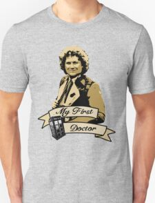 My first Doctor (Who) sixth 6th Colin Baker T-Shirt