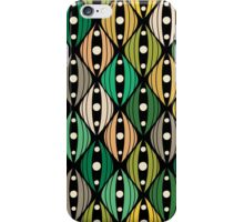 Abstract hand-drawn doodle flowers iPhone Case/Skin