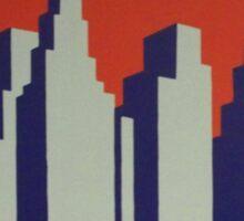 Vintage poster - Capitol Limited Sticker