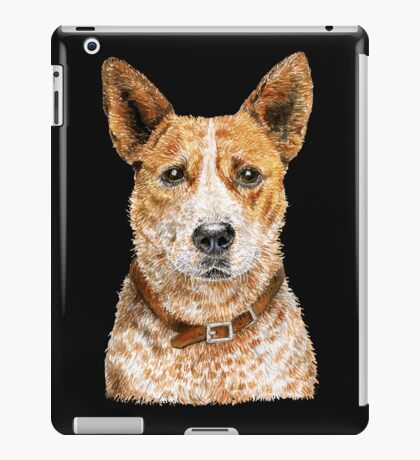 Beaut Australian Cattle Dog - Red iPad Case/Skin