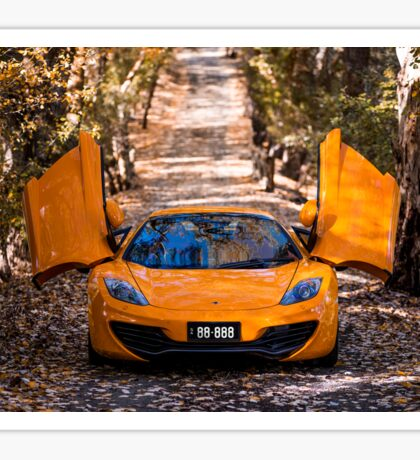McLaren 12c Spider Sticker