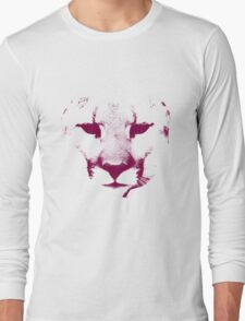 Red Cougar Long Sleeve T-Shirt