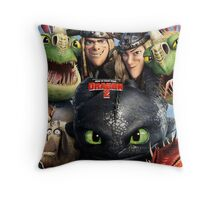 How To Train Your Dragon 01 Throw Pillow