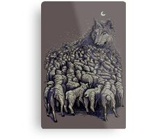 journey to wolf mountain Metal Print