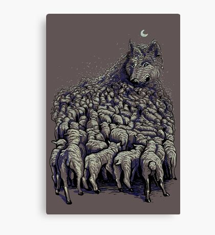journey to wolf mountain Canvas Print