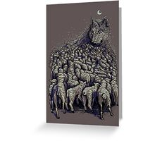 journey to wolf mountain Greeting Card