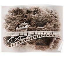 Gorge Bridge, Launceston, Tasmania, Australia Poster