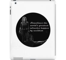Daisy Johnson- World's Greatest Miracles iPad Case/Skin