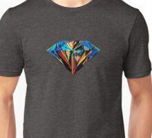 Diamant de couleur Unisex T-Shirt