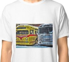 Old Buses 3 Classic T-Shirt