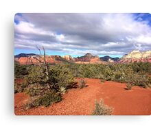 Red Rocks of Sedona Arizona Canvas Print