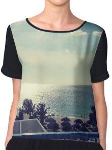 Aruba Beach Chiffon Top