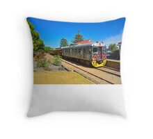 The Cockle Train Throw Pillow