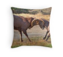 Agony of Defeat! Throw Pillow