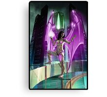 Robot Angel Painting 020 Canvas Print
