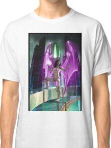 Robot Angel Painting 020 Classic T-Shirt