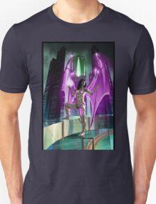 Robot Angel Painting 020 Unisex T-Shirt