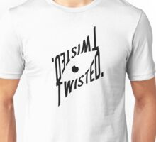 """Twisted."" Mirror Eye design shirt Unisex T-Shirt"