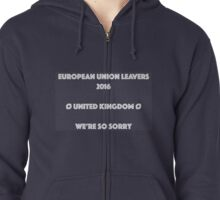 EU Leaver's Merch Zipped Hoodie