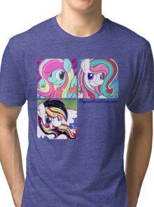 PSL's June Design - Let the Rainbow Remind You Tri-blend T-Shirt