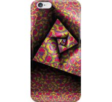 Pleating and Folding A Paper Spiral III iPhone Case/Skin