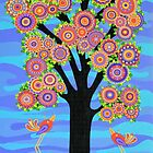 The Blessing Tree by Lisa Frances Judd~QuirkyHappyArt